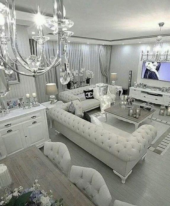 Angelaochiengxo Modern Glam Living Room Silver Living Room Silver Bedroom Decor