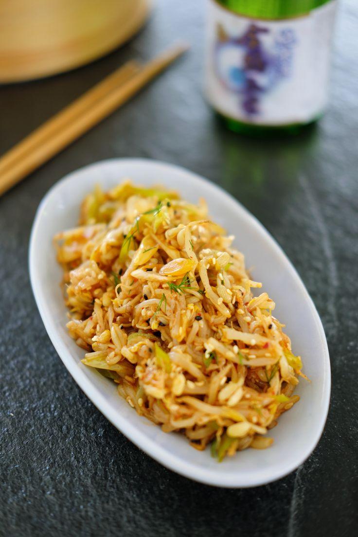 En bønnespirende kjærlighet  Lær deg å lage en superenkel og smakfull koreansk bønnespiresalat! God som siderett, til ris eller prøv deg på koreansk banchan. Sunn, crispy og smakfull. http://www.gastrogal.no/koreansk-bonnespiresalat/