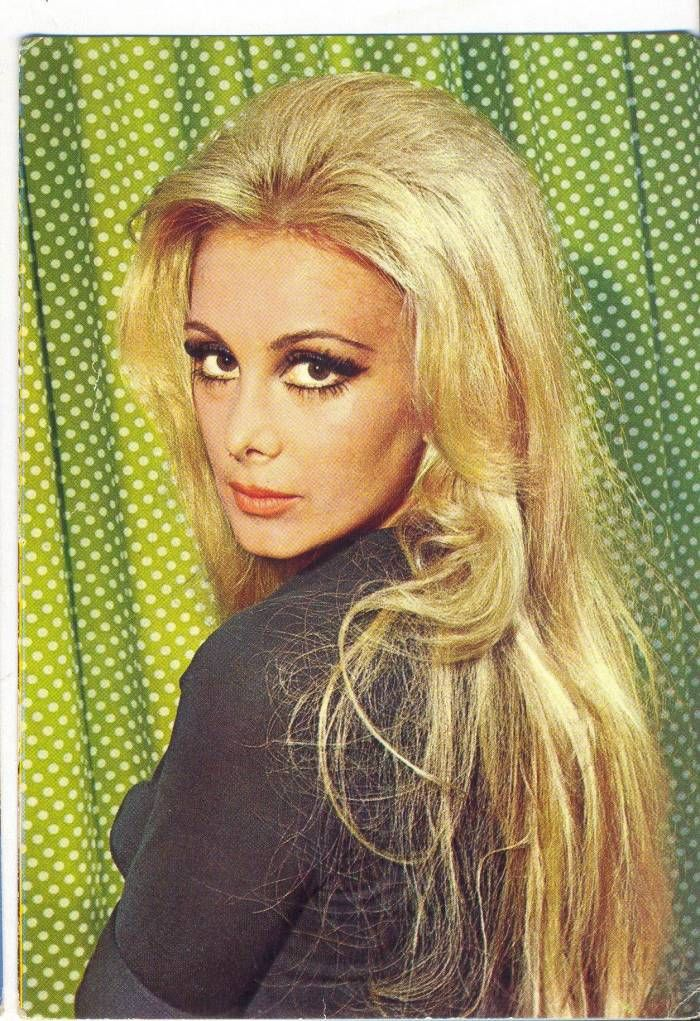 Filiz Akin // Turkish woman, actress 1970s.