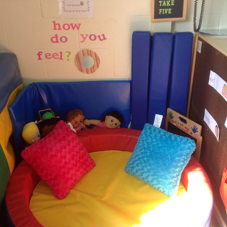 Preschool Classroom, Calm Down Corner