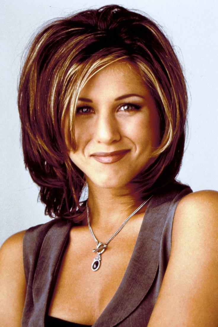 """Rachel de """"Friends"""", que até pouco tempo era o cabelo mais copiado"""