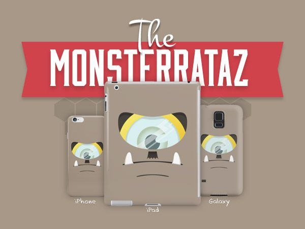 The Monsterrataz: Mr. Zephaniah J. Monster on Behance
