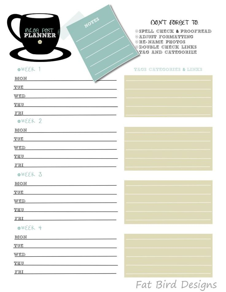 82 best Printable Planners images on Pinterest Planner ideas - free business printables