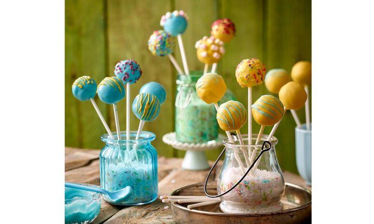 Cake Melts-Pops Rezept | Dr. Oetker