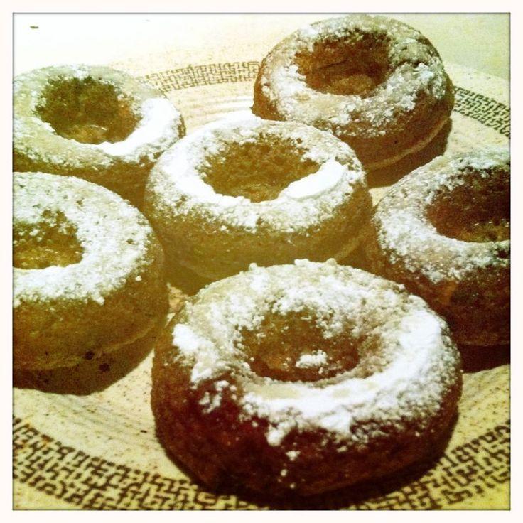 Baked Vegan Apple Doughnuts Use coconut oil instead of canola, since ...