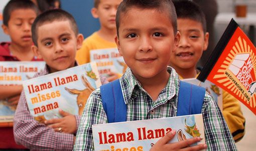 By reading together, We Give Books has donated more than 1.7 million books to kids. Help us donate the next million.