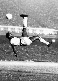 Pelé. The God of football. O Rei. Whatever the name, the memory is the same - of a world-beating superstar - a record-breaking footballing icon. Above and beyond his unequalled achievement in winning three FIFA World Cups, Edson Arantes Do Nascimento, or Pelé, was a genius who was constantly reinventing the game of football.
