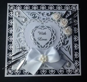 tonic venetian lace cards - Google Search