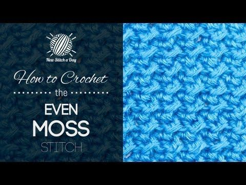 [Video Tutorial] Learn A New Stitch: Even Moss Stitch - Page 2 of 2 - Knit And Crochet Daily