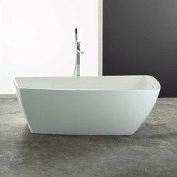 Free-standing baths-Bathtubs rectangular-Baths-Yole-Mastella Design