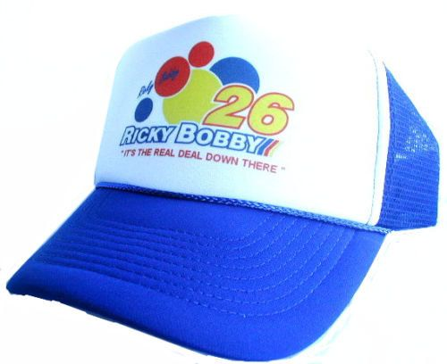 Ricky Bobby Talladega Nights hat movie hat Trucker by MESHHATCOM