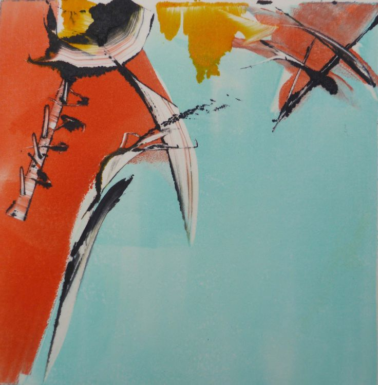 Beautiful monotype made by norwegian contemporary artist Kit Fong Ling. To see more and order, go to http://artbyhand.no/butikk/billedkunst/kit-fong-ling