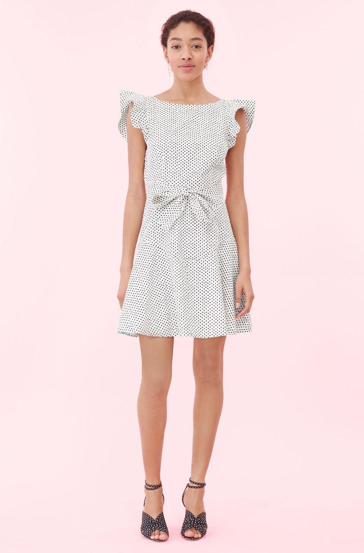 Rebecca Taylor La Vie Corinne Dot Dress