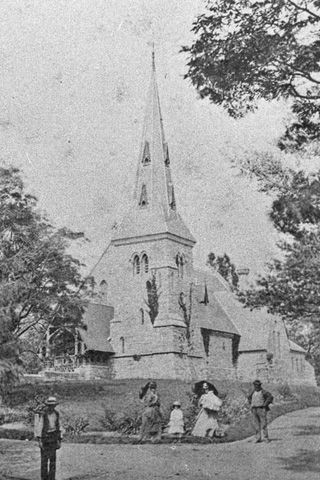Chapel of St. James' Cemetery, 1870