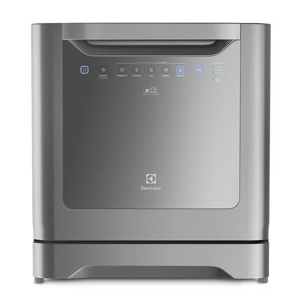 cool Lava - Louças Le08S 6 Programas Painel Blue Touch Inox - Electrolux 110V