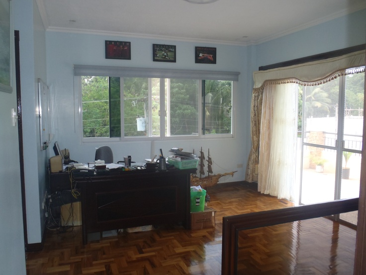 Upstairs office/family area