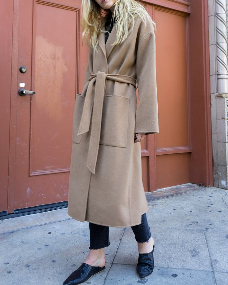 ÉTER - Robe coat - Camel