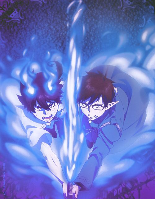 I hated it when Yukio became a demon too..... I wanted Rin to be the only one