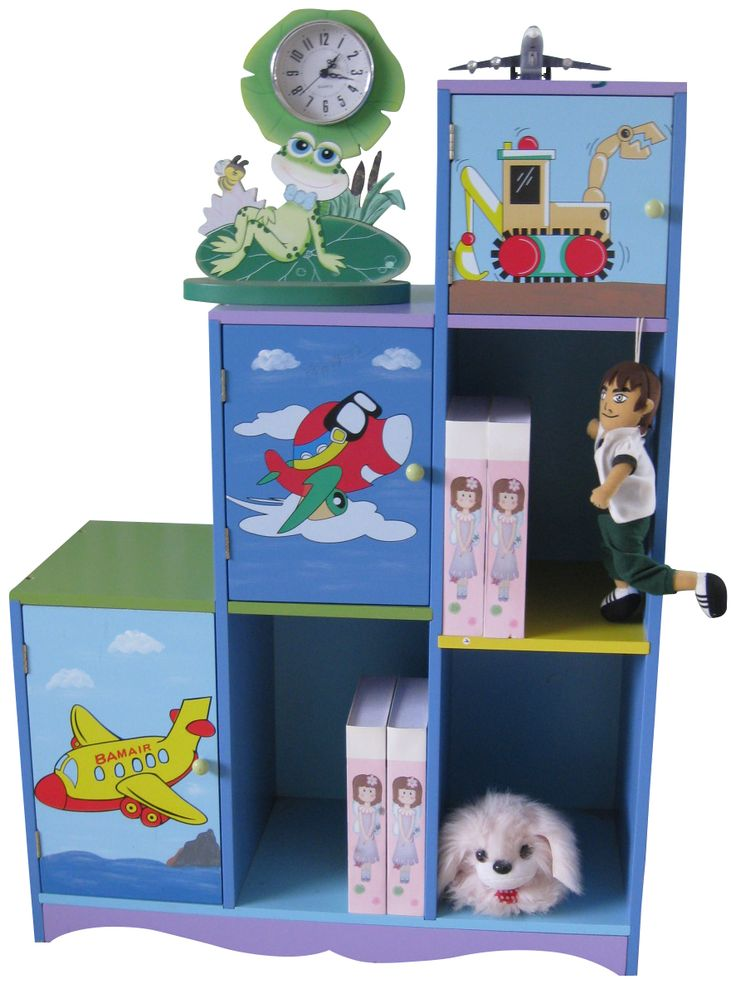 Little Home Store   Liberty House Transport Storage Cabinet And Shelves,  £59.99 (http