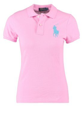 SKINNY FIT POLO - Piké - taylor pink