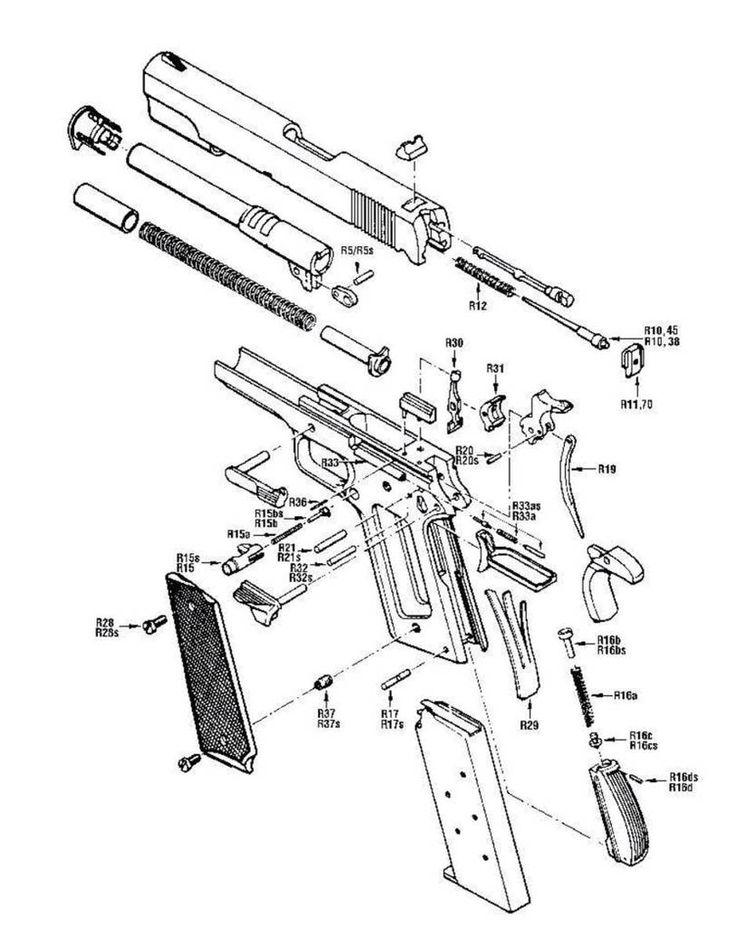 handgun safety diagram 17 best images about 1911 on pinterest pistols  colt  17 best images about 1911 on pinterest pistols  colt