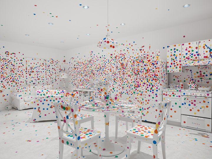 Yayoi Kusama: Give Me Love Exhibition at David Zwirner Gallery, New York City » Retail Design Blog