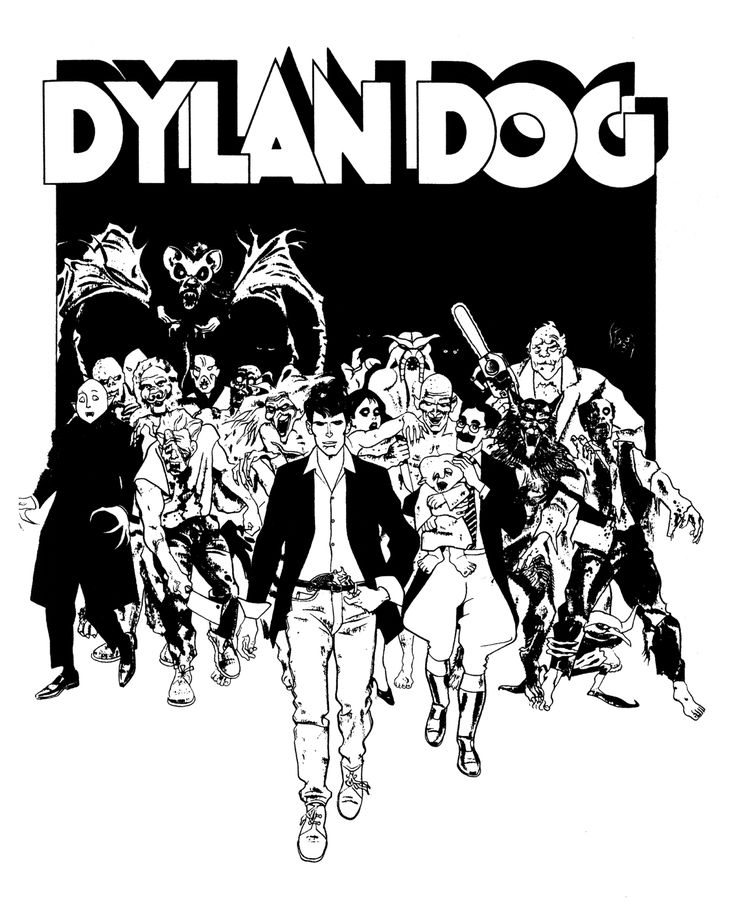 Italian comic Dylan Dog based on Rupert Everett- who would have thought!