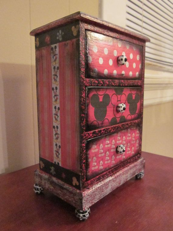 100 best jewelry boxes 20 images on Pinterest Painted furniture
