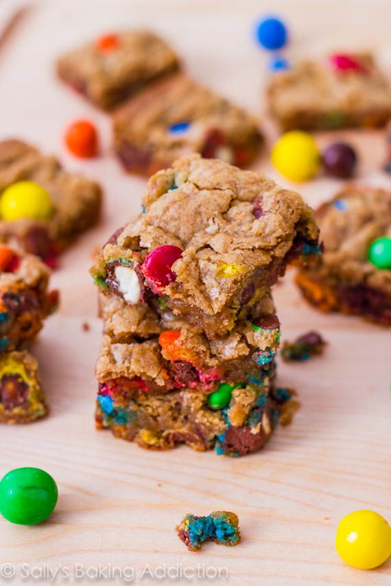 ... Pretzel M&M Blondies | Recipe | Pretzels, Pretzel M&ms and Caramel