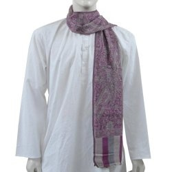 India and Clothing Men Scarves Pashmina 12 x 60 inches