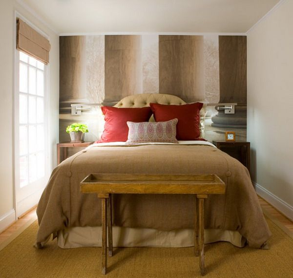 small bedroom ideas with queen bed   Home   Pinterest