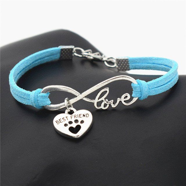 Does your Best Friend have Four Legs? Get A Unique Bracelet (any Color) FREE Shipping! Limited Number Available.