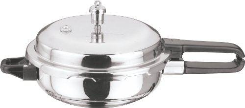 Vinod P-Sen Splendid Stainless Steel Sandwich Bottom Pressure Pan, Senior