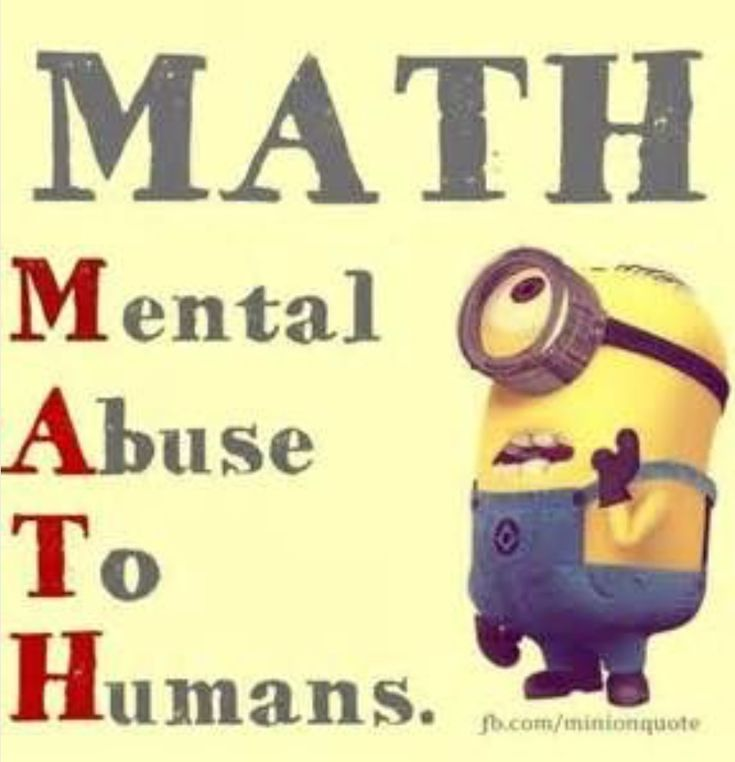 SO NOT TRUE I LOVE MATH