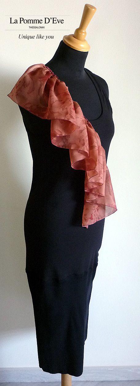 La Pomme D'Eve Dress. Designed and crafted by Greek fashion designer Anastasia Mazaraki