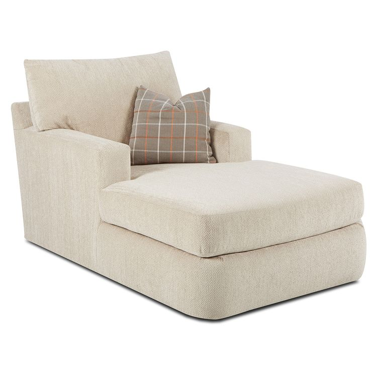 klaussner furniture simms chaise lounge