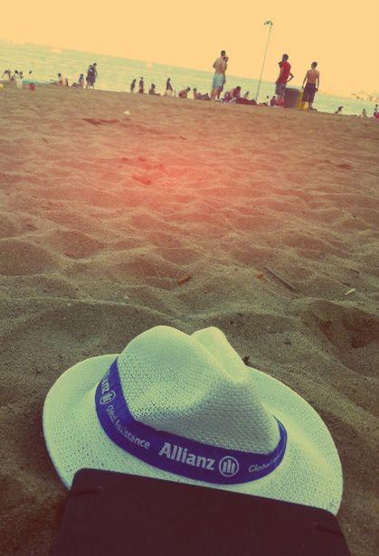 Tiempo de playa, también para el Explorador de Sonidos de Allianz, que pasó por Barcelona.