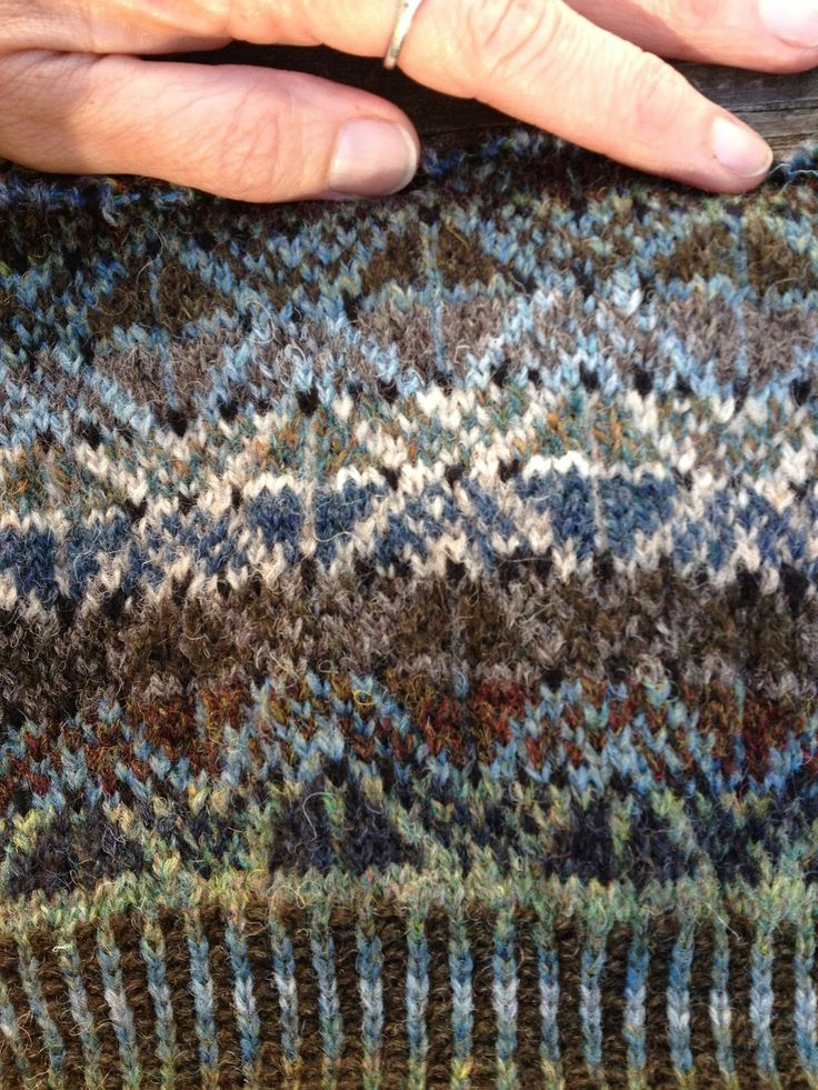 288 best Fair Isle Swatches and Schemes images on Pinterest | Fair ...