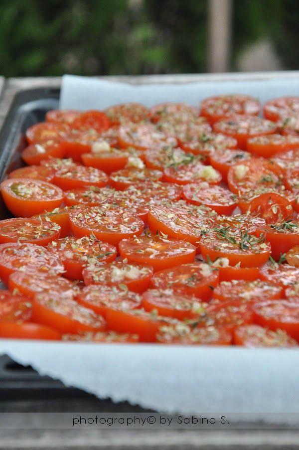 Pomodorini confit Due bionde in cucina
