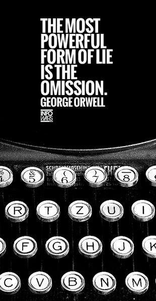 """author of """"1984"""", a book that many at the time believed was a blueprint, along with Aldous Huxley's """"brave new world"""""""