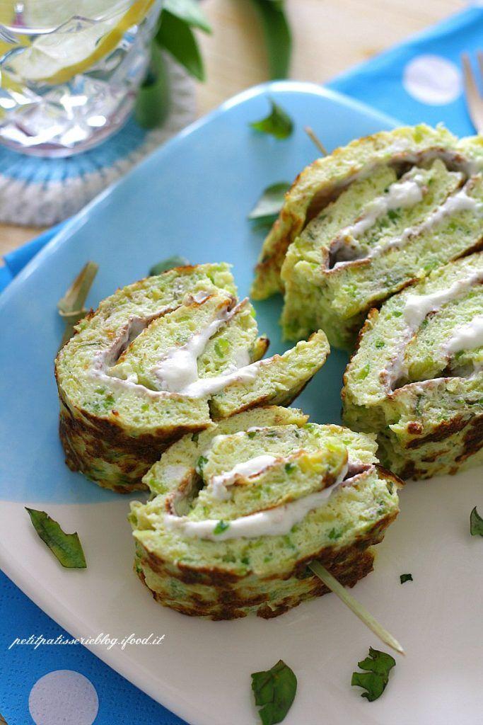 Spiedini di frittata con le zucchine