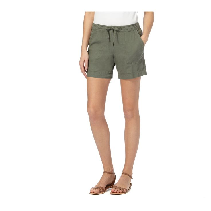 These cargo shorts from The Collection are a comfortable pair for the coming season. Crafted from irresistibly soft linen, they are finished in khaki and will team well with flat sandals for a laid-back look.