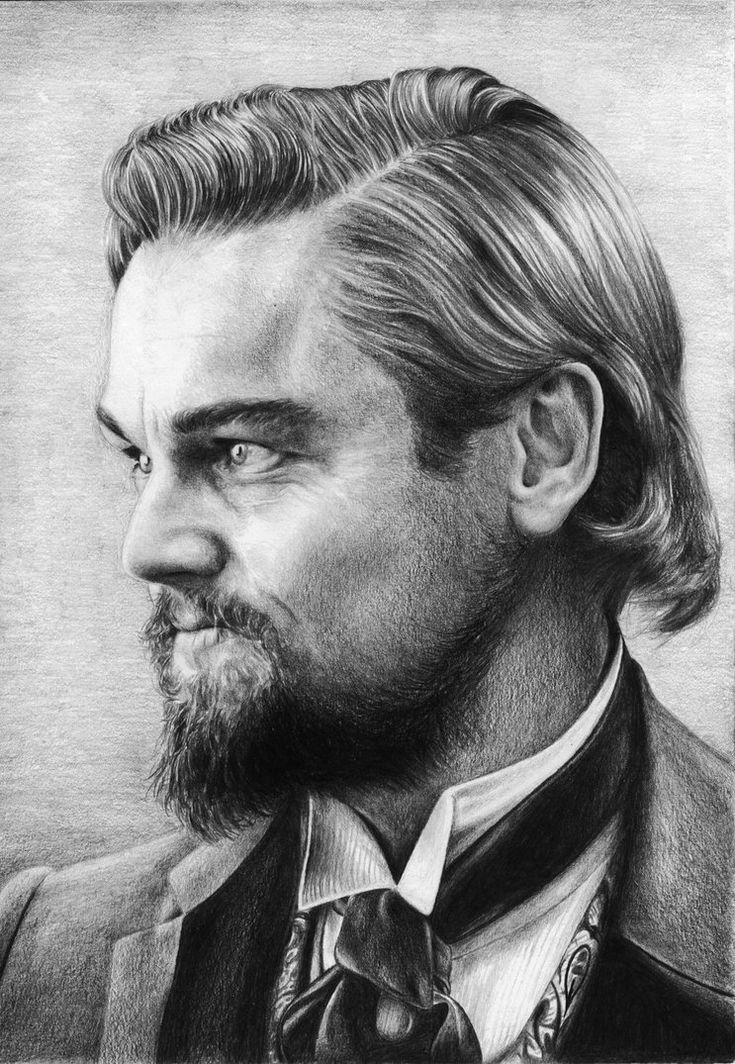 Leonardo DiCaprio as Calvin Candie by Sabdi on DeviantArt