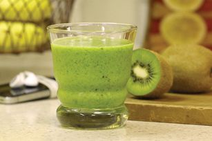 Green Energy Smoothie with Kiwi Recipe - Kraft Recipes