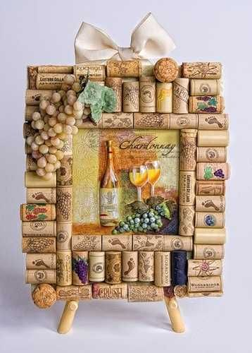 recycling wine bottle corks for home decorations