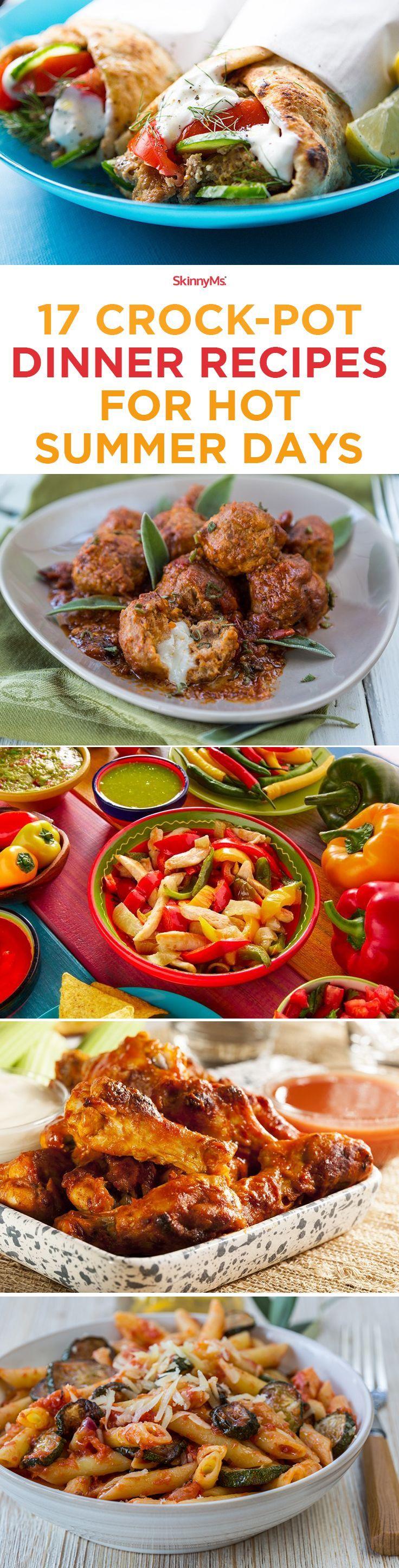 17 Crock-Pot Dinner Recipes for Hot Summer Days!