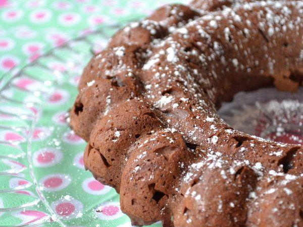 Couronne au chocolat et à la ricotta - sans beurre
