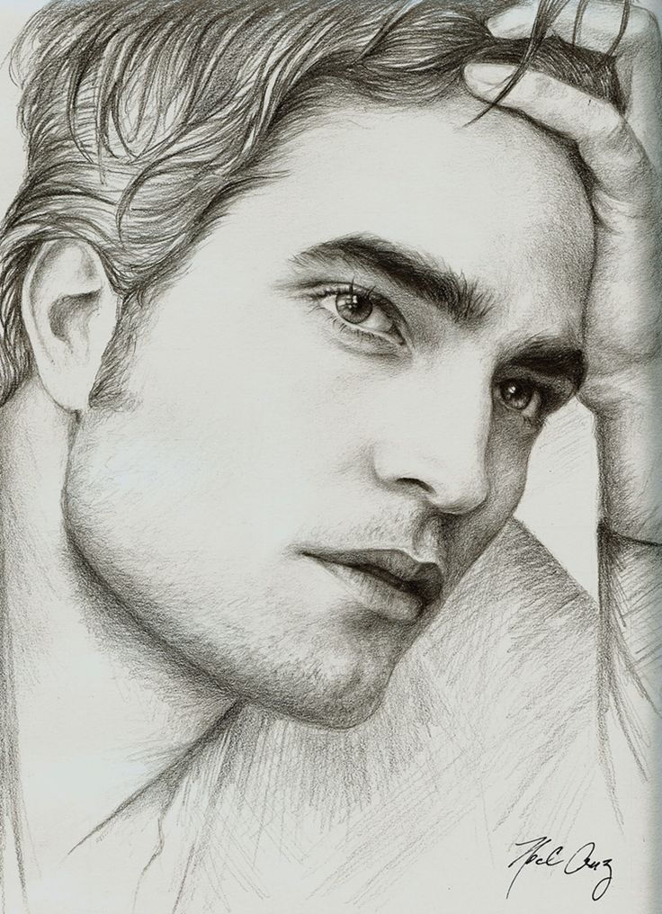 The artist truly captured his essence...Robert Pattinson