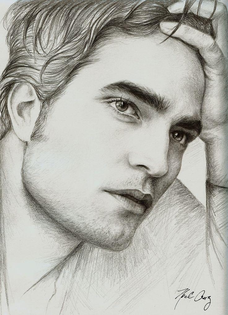 The artist truly captured his essence...Robert Pattinson