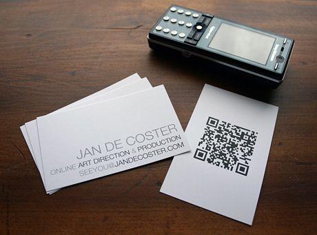 Oltre 25 fantastiche idee su Qr code business card su Pinterest